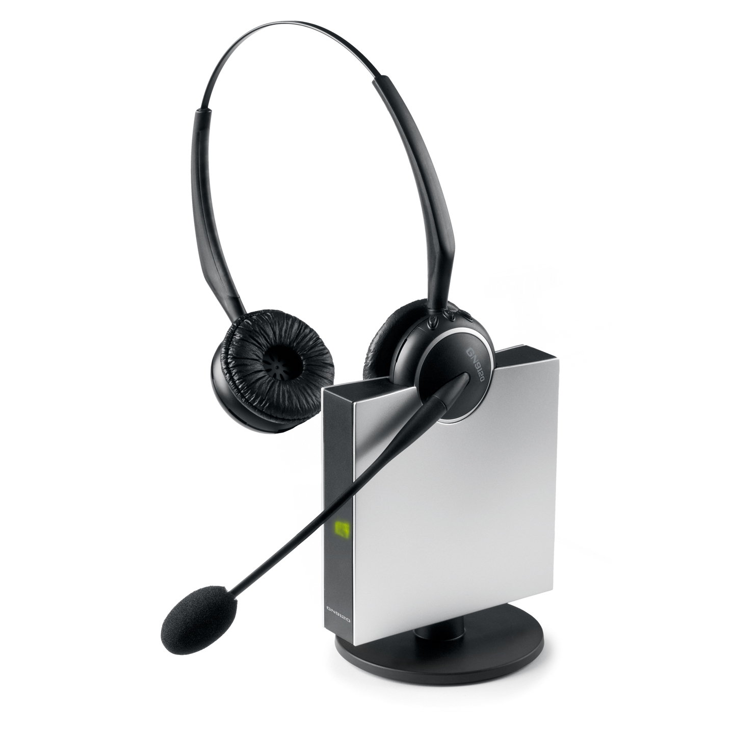 Jabra pro 9465 wireless headset with touch screen base, multi-use.